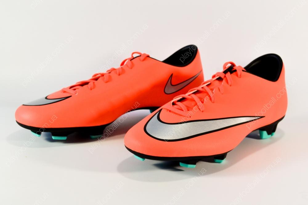 Футбольные бутсы Nike Mercurial Victory V FG (651632-803) купить в ... af3d4fd7a27