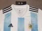 Детская футбольная форма сборной Аргентины Чемпионат Мира 2018 бело-голубая 0