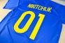 Футболка сборной Украины Евро 2016 stadium дом с нанесением 7
