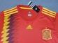 Детская футбольная форма сборной Испании Чемпионат Мира 2018 красная 0