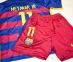 Детская форма Барселоны 2015/16 Неймар (барса Неймар JR home 15-16) 4