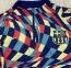 Детский тренировочный спортивный костюм Барселоны 2021/2022 разноцветный 6