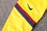 Детский тренировочный спортивный костюм Барселоны 2020/2021 желтый 5