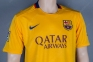 Футбольная форма Barcelona Away 2015/2016 replica (Barcelona aw 15/16 replica) 1