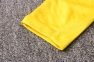 Детский тренировочный спортивный костюм Барселоны 2020/2021 желтый 2