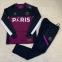 Тренировочный спортивный костюм ПСЖ 2021/2022 черно-вишневый 6