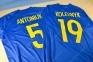 Футболка сборной Украины Евро 2016 stadium дом с нанесением 9