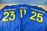 Футболка сборной Украины Евро 2016 stadium дом с нанесением 10