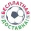 Футболка сборной Украины Joma поло синяя 9