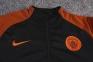 Тренировочный спортивный костюм Манчестер Сити 2016/2017 оранжевый 1