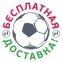 Футбольная форма сборной Украины Joma Euro 2020 игровая футболка желтая 0