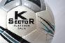Футзальний м'яч K-Sector Platinum Sala (Platinum) 0