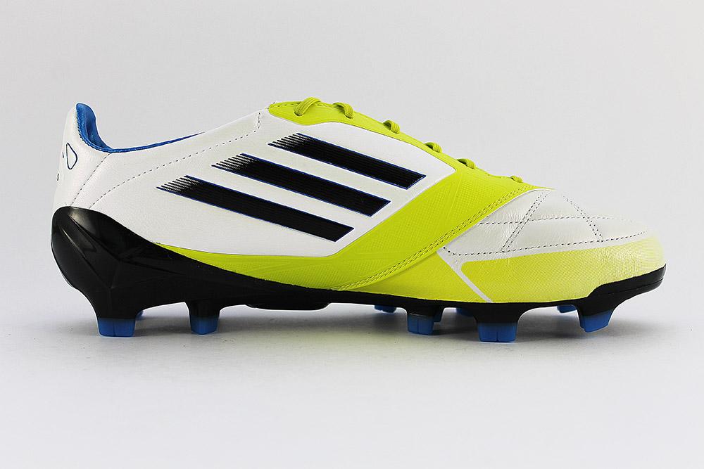 75afa977 Футбольные бутсы Adidas F50 Adizero TRX FG (white-green) купить в ...