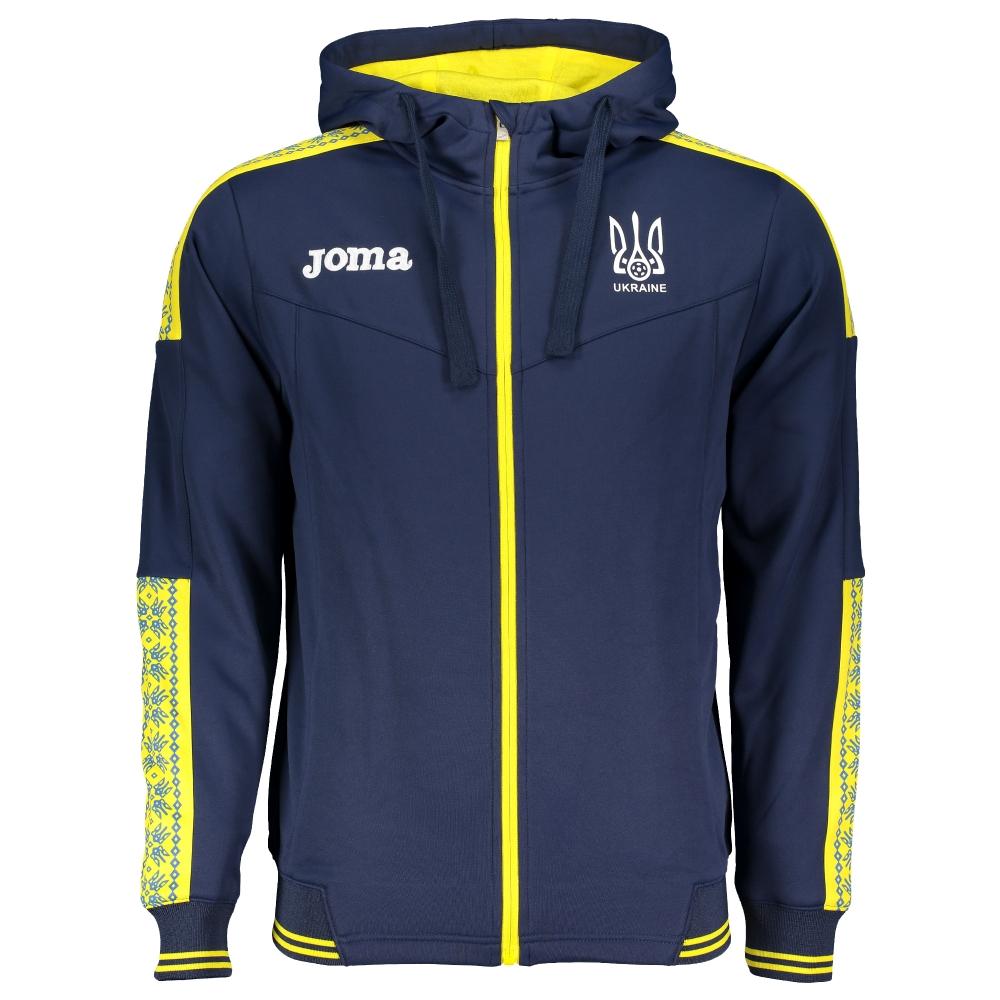 b808ccdfb84 Олимпийка сборной Украины Joma (FFU311011.17) купить в Киеве в  интернет-магазине Playfootball