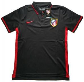 Футболка поло Атлетико Мадрид 2016/2017 черная
