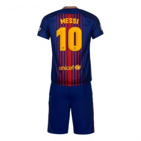 Футбольная форма Барселона 2017/2018 Месси домашняя