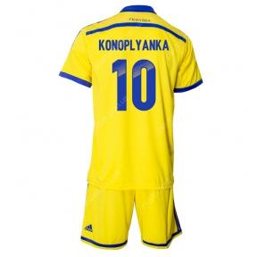 Футбольная форма сборная Украина 14/15 Коноплянка домашняя (Украина 14/15 Коноплянка дом)