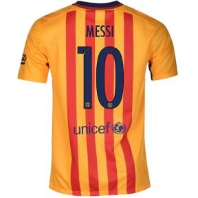 Футболка Barcelona away stadium 2015/16 MESSI 10