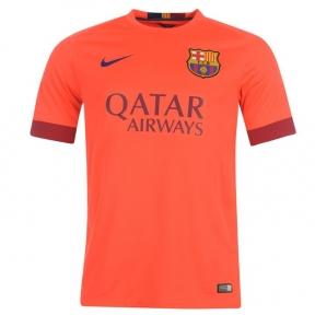 Футболка Barcelona stadium оранжевая (away 2014/15)