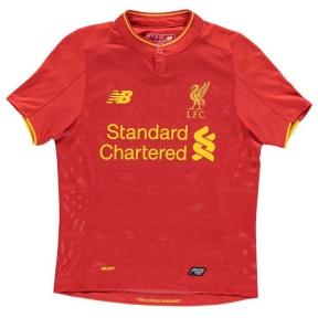 Детская футбольная форма Ливерпуля 2016/2017 домашняя (JR Liverpool 2016/2017 home)