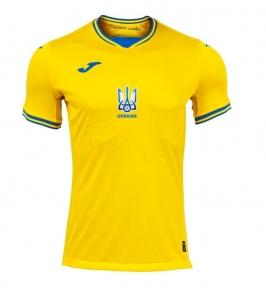 Футбольная форма сборной Украины Joma Euro 2020 игровая футболка желтая