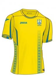 Футболка сборной Украины Joma (реплика) желтая