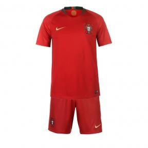 Детская футбольная форма сборной Португалии Чемпионат Мира 2018 красная