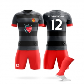 Футбольная форма на заказ ФК Двірківщина