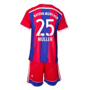 Футбольная форма Баварии 2014/2015 Мюллер (Bayern 2014/2015 home replica Muller)