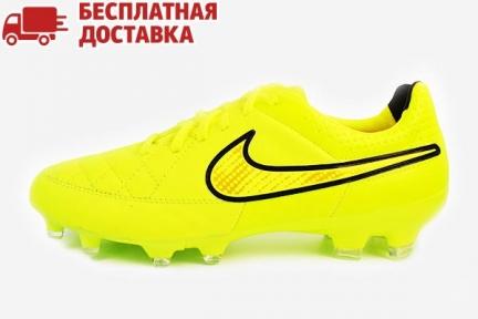Футбольные бутсы Nike Tiempo Legacy FG (631521-770)