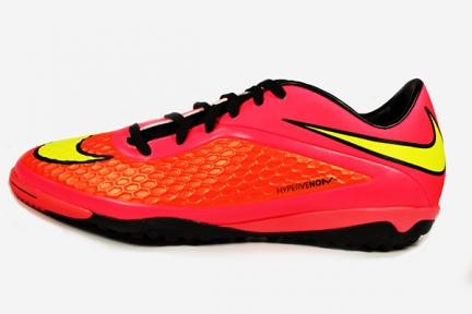 Сороконожки Nike HyperVenom Phelon TF (599846-690)
