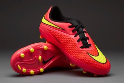 Футбольные детские бутсы Nike JR HyperVenom Phelon FG (599062-690)