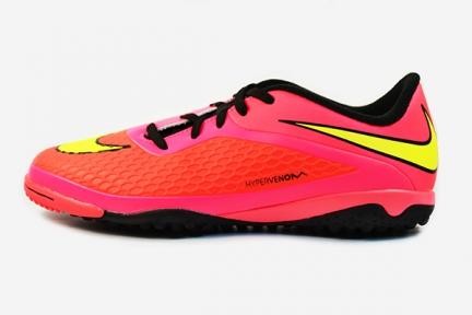 Сороконожки Nike JR HyperVenom Phelon TF (599847-690)