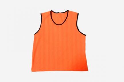 Футбольная манишка для тренировок оранжевая (103)