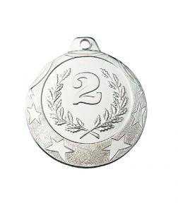 Спортивная медаль IL102 40ММ серебро