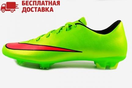 Футбольные бутсы Nike Mercurial Victory V FG (651632-360)