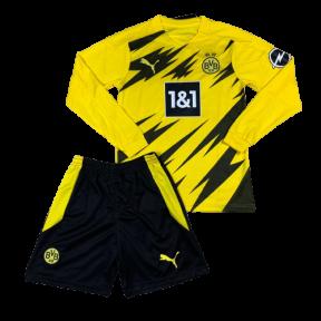 Детская футбольная форма Боруссия Дортмунд с длинным рукавом 2020/2021 stadium домашняя