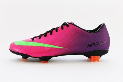 Футбольные бутсы Nike Mercurial Velose FG (555447-635)