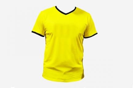 Футбольная форма Playfootball (KS-yellow-black)