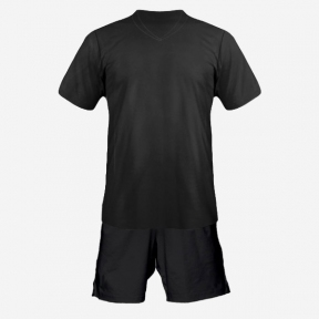 Футбольная форма Playfootball (black-black)