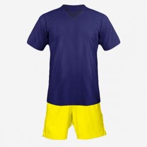 Футбольная форма Playfootball (dark-blue-yellow)