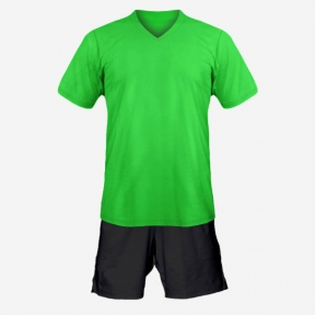 Футбольная форма Playfootball (green-black)