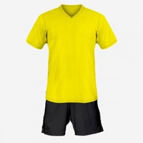 Детская футбольная форма Playfootball (yellow-black)