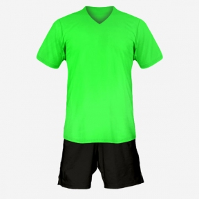 Футбольная форма Playfootball (lightgreen-black)