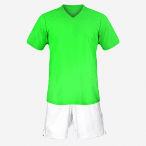 Футбольная форма Playfootball (lightgreen-white)