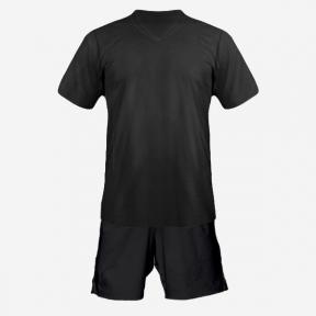 Детская футбольная форма Playfootball (black-black)