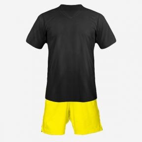 Детская футбольная форма Playfootball (black-yellow)