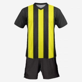Футбольная форма Playfootball (black-yellow)