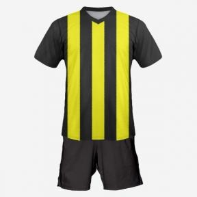 Футбольная форма Playfootball (black-yellow)