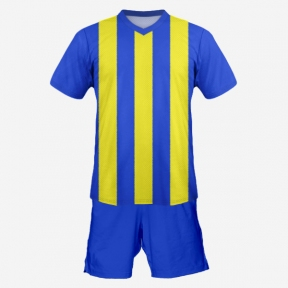 Футбольная форма Playfootball (blue-yellow)